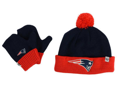 New England Patriots '47 NFL Toddler '47 Bam Bam Knit Set