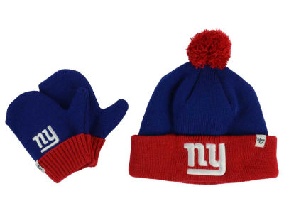New York Giants '47 NFL Toddler '47 Bam Bam Knit Set