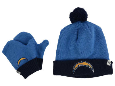 San Diego Chargers '47 NFL Toddler '47 Bam Bam Knit Set