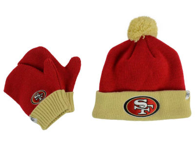 San Francisco 49ers '47 NFL Toddler '47 Bam Bam Knit Set