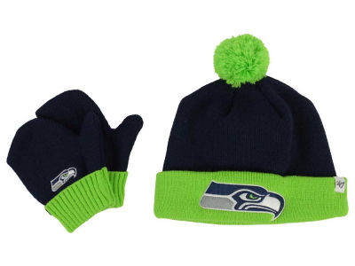 Seattle Seahawks '47 NFL Toddler '47 Bam Bam Knit Set