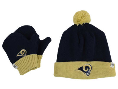 Los Angeles Rams '47 NFL Toddler '47 Bam Bam Knit Set