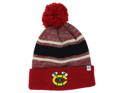 Chicago Blackhawks '47 NHL '47 Fairfax Pom Knit