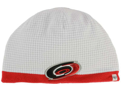 Carolina Hurricanes '47 NHL '47 Grid Fleece Beanie Knit