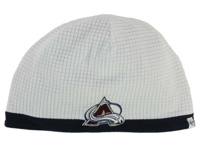 Colorado Avalanche '47 NHL '47 Grid Fleece Beanie Knit