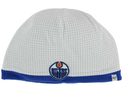 Edmonton Oilers '47 NHL '47 Grid Fleece Beanie Knit