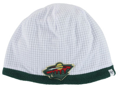 Minnesota Wild '47 NHL '47 Grid Fleece Beanie Knit