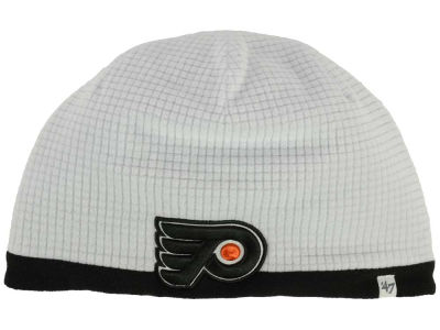 Philadelphia Flyers '47 NHL '47 Grid Fleece Beanie Knit