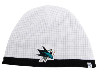 San Jose Sharks '47 NHL '47 Grid Fleece Beanie Knit