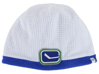 Vancouver Canucks '47 NHL '47 Grid Fleece Beanie Knit