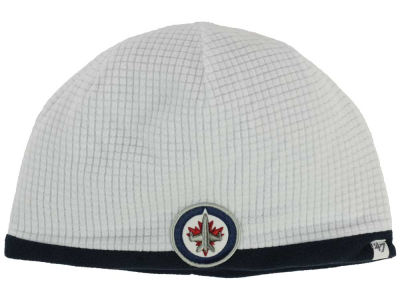Winnipeg Jets '47 NHL '47 Grid Fleece Beanie Knit