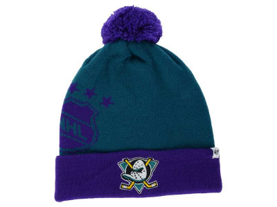 Anaheim Ducks '47 NHL '47 Double Stack Pom Knit