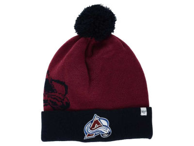 Colorado Avalanche '47 NHL '47 Double Stack Pom Knit