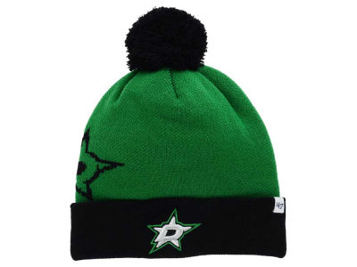 Dallas Stars '47 NHL '47 Double Stack Pom Knit
