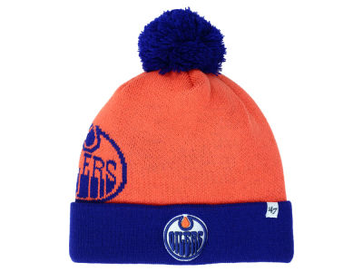 Edmonton Oilers '47 NHL '47 Double Stack Pom Knit