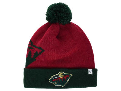 Minnesota Wild '47 NHL '47 Double Stack Pom Knit