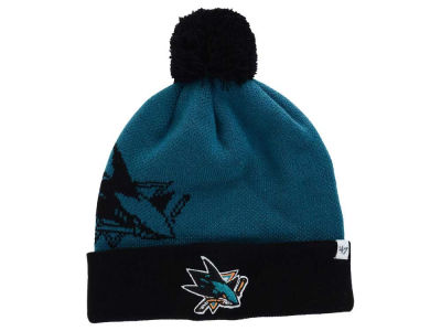 San Jose Sharks '47 NHL '47 Double Stack Pom Knit