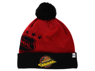 Vancouver Canucks '47 NHL '47 Double Stack Pom Knit