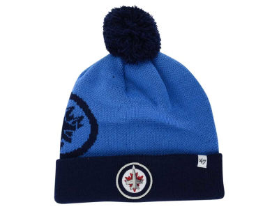 Winnipeg Jets '47 NHL '47 Double Stack Pom Knit
