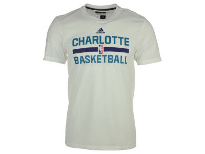 Charlotte Hornets adidas NBA Men's On Court Graphic Aeroknit T-Shirt