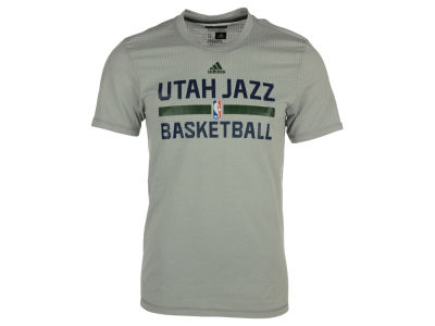 Utah Jazz adidas NBA Men's On Court Graphic Aeroknit T-Shirt