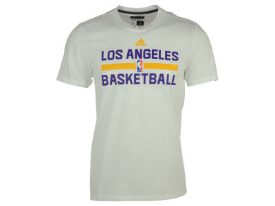 Los Angeles Lakers adidas NBA Men's On Court Graphic Aeroknit T-Shirt
