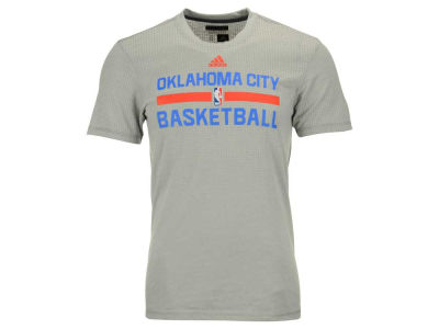 Oklahoma City Thunder adidas NBA Men's On Court Graphic Aeroknit T-Shirt