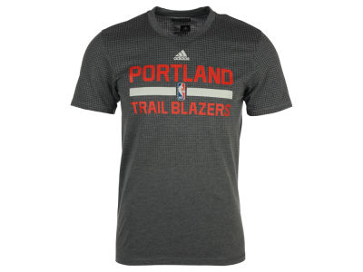 Portland Trail Blazers adidas NBA Men's On Court Graphic Aeroknit T-Shirt