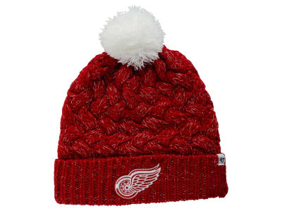 Detroit Red Wings '47 NHL Women's '47 Fiona Pom Knit