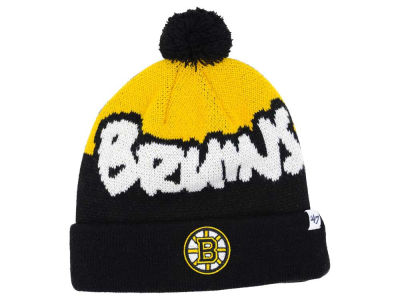Boston Bruins '47 NHL Youth '47 Underdog Pom Knit