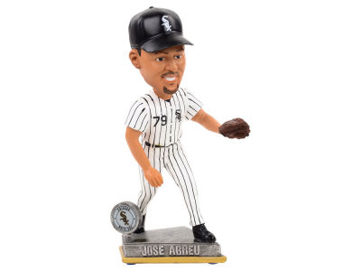 Chicago White Sox Jose Abreu Springy Logo Bobble