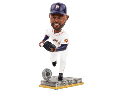 Houston Astros Jose Altuve Springy Logo Bobble