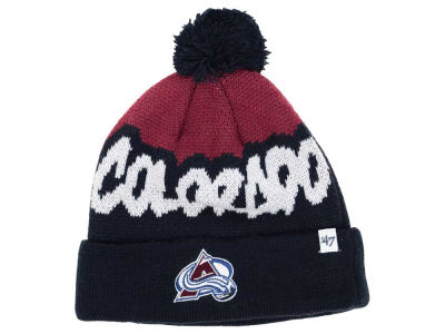Colorado Avalanche '47 NHL Youth '47 Underdog Pom Knit