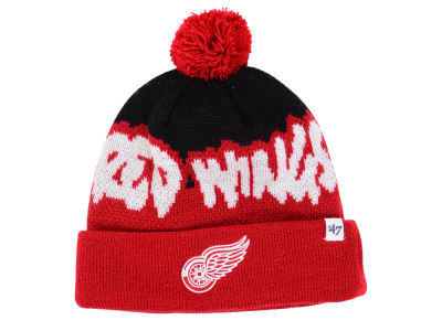 Detroit Red Wings '47 NHL Youth '47 Underdog Pom Knit