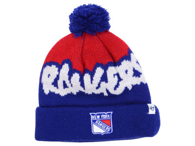 New York Rangers '47 NHL Youth '47 Underdog Pom Knit