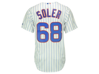 Chicago Cubs Jorge Soler Majestic MLB Men's Player Replica CB Jersey