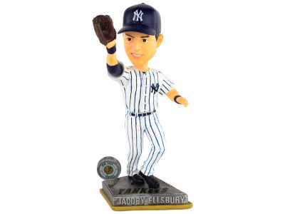 New York Yankees Jacoby Ellsbury Springy Logo Bobble