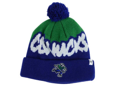 Vancouver Canucks '47 NHL Youth '47 Underdog Pom Knit