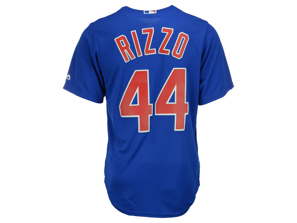 4c65025a2 Chicago Cubs Anthony Rizzo Majestic MLB Men s Player Replica Cool Base  Jersey