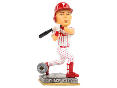 Philadelphia Phillies Chase Utley Springy Logo Bobble