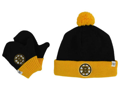 Boston Bruins '47 NHL Toddler '47 Bam Bam Knit Set