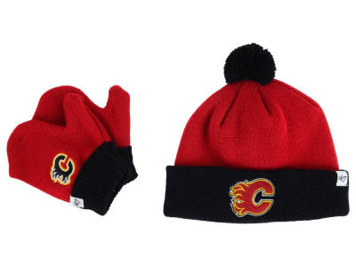 Calgary Flames '47 NHL Toddler '47 Bam Bam Knit Set