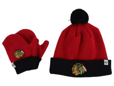 Chicago Blackhawks '47 NHL Toddler '47 Bam Bam Knit Set
