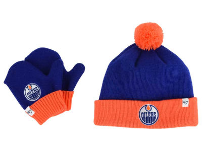 Edmonton Oilers '47 NHL Toddler '47 Bam Bam Knit Set