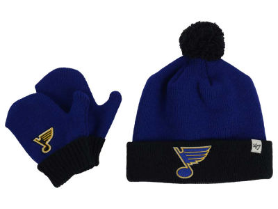 St. Louis Blues '47 NHL Toddler '47 Bam Bam Knit Set