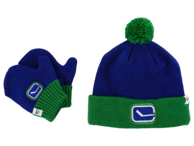 Vancouver Canucks '47 NHL Toddler '47 Bam Bam Knit Set