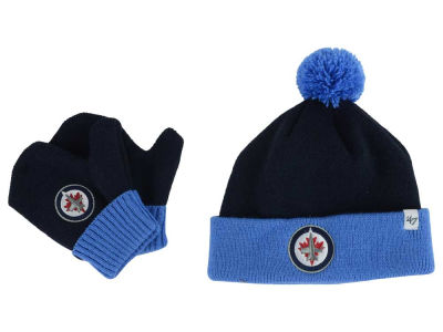 Winnipeg Jets '47 NHL Toddler '47 Bam Bam Knit Set