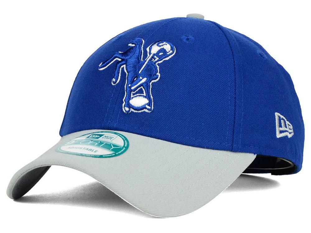 e12057c9d2f Indianapolis Colts New Era NFL 2 Tone Historic League 9FORTY Cap ...