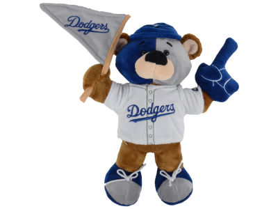 Los Angeles Dodgers 10inch Fan Bear