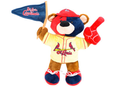 St. Louis Cardinals 10inch Fan Bear